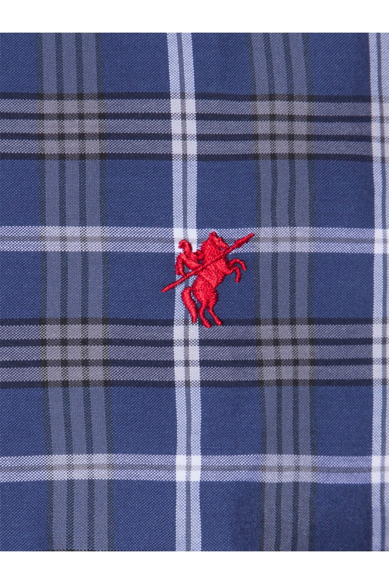 Herren Hemden Kentkragen Langarm GRAU