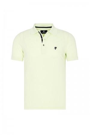 Herren Polo shirt mit hemd kiagen Fb. pistazie