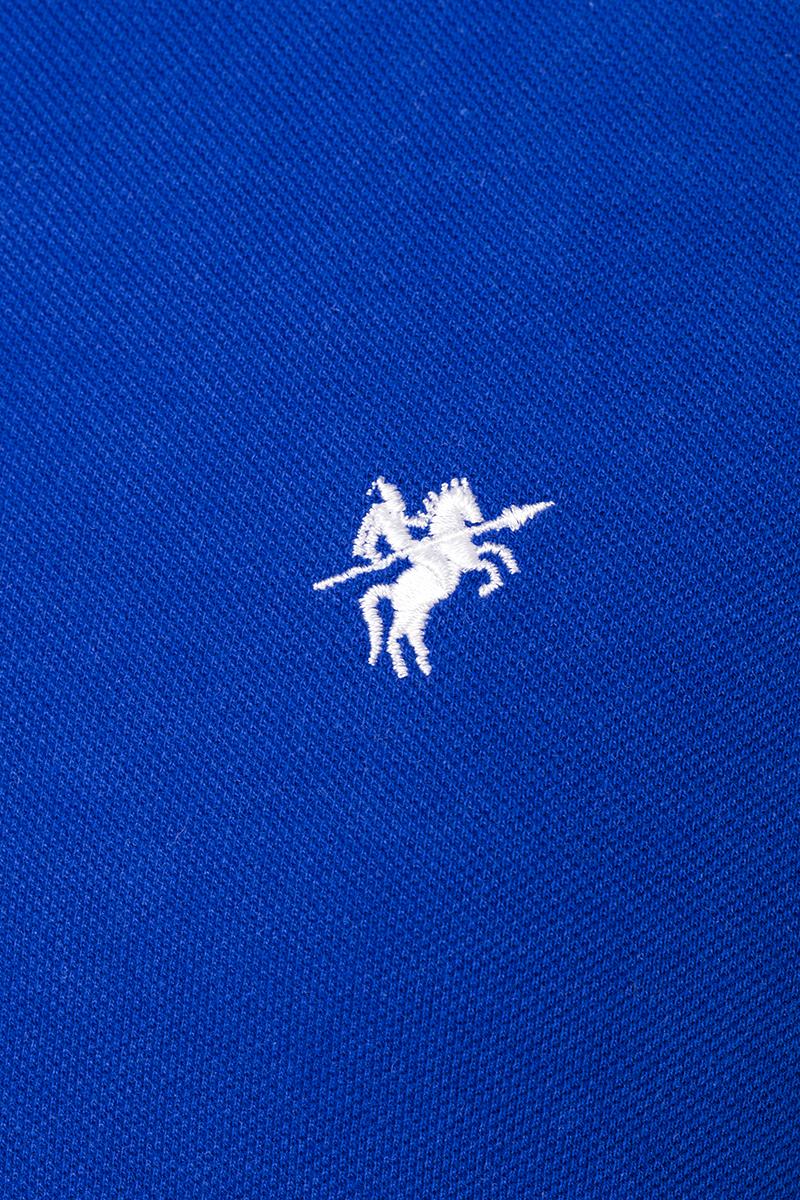 Baumwoll Poloshirt Kurzarm ROYAL für Herren