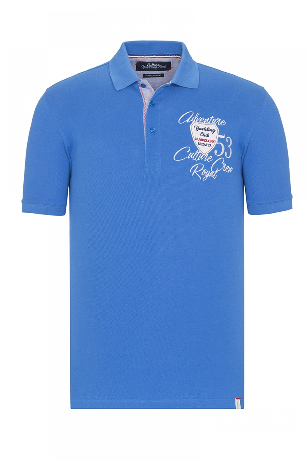 Men's Poloshirt Pique Royal