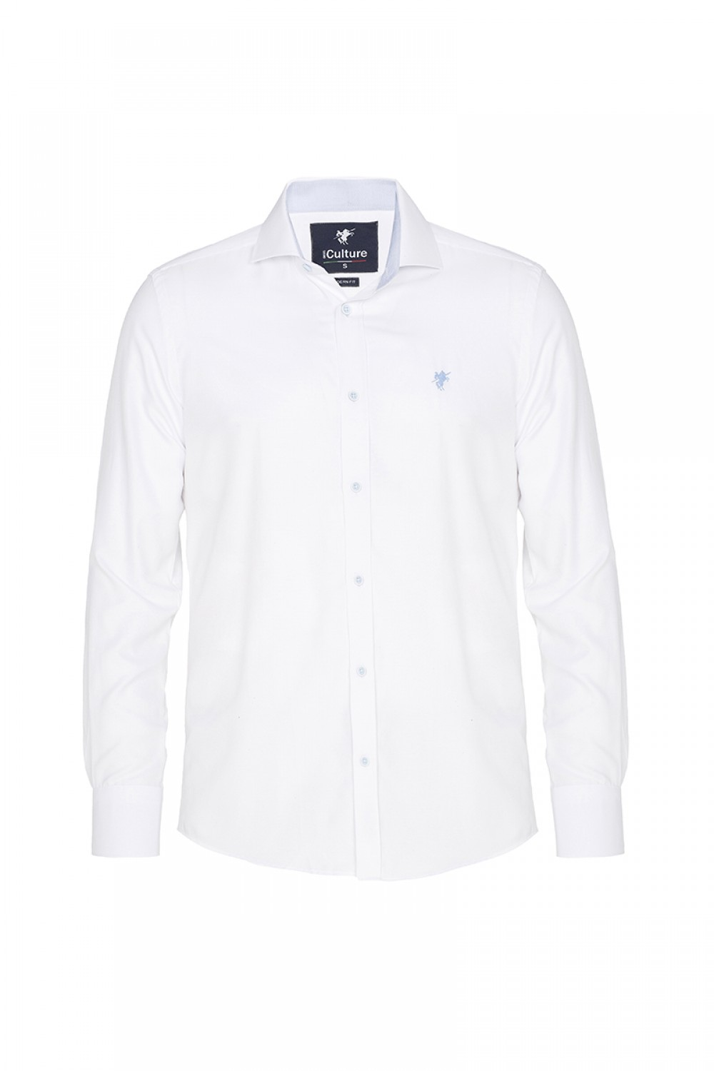 Men's Shirt Kent Collar White