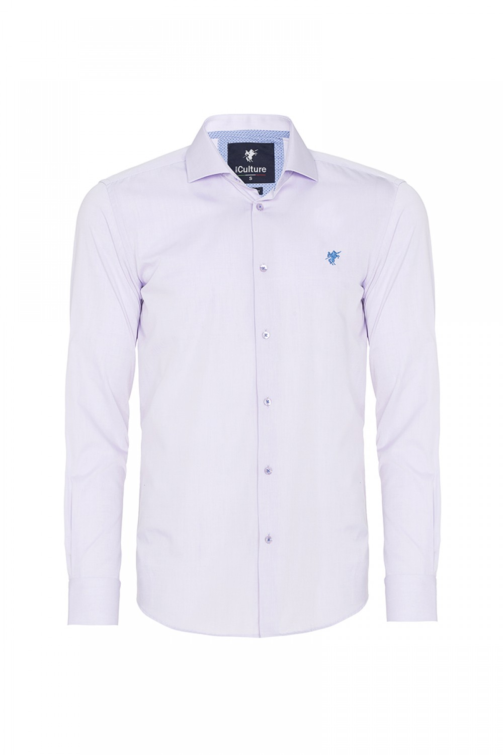 Men's Shirt Kent Collar Lilac